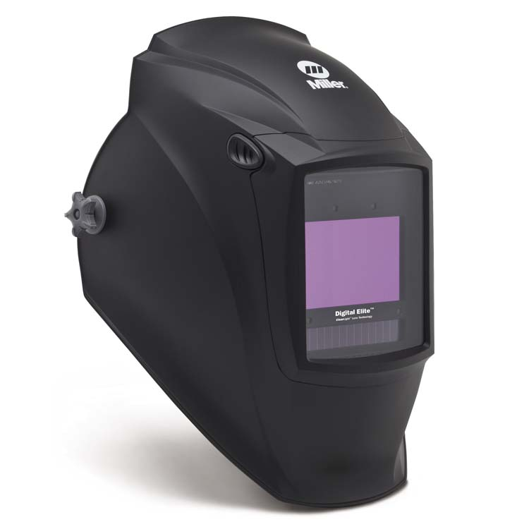 Black Digital Elite Helmet