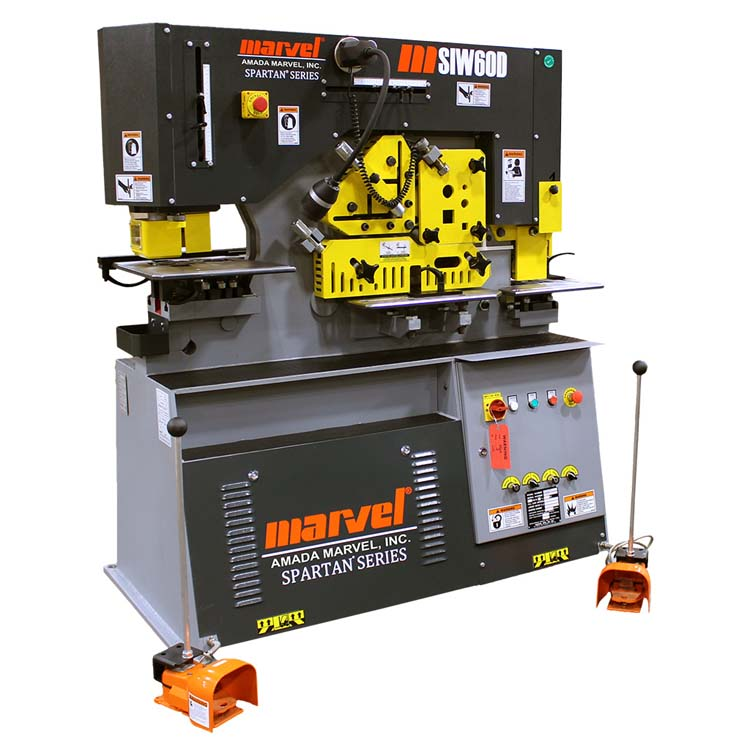 Marvel 60 Ton Ironworker