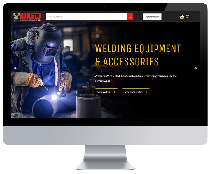 New Ecommerce Platform General Distributing Company